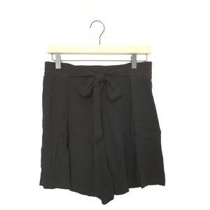Zara front tie culottes